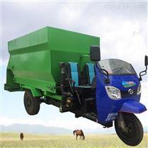 机动三轮式柴油喂料车 新建牛场撒草车