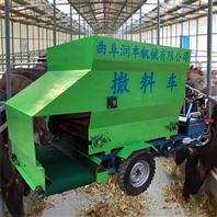 出料口可定制的撒料车 饲养牛场青储投料车