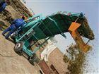 小型牧草青贮饲料挖草机 移动取料机