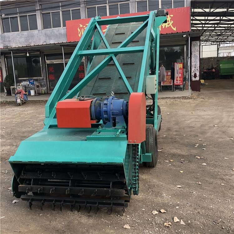 轮胎式青储取料机 高度可调节挖草机