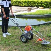 手推式旋耕除草机 自走式草坪割草机