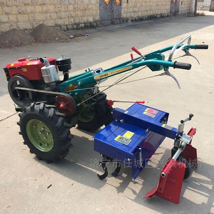小型手扶开沟起垄旋耕机四驱多功能拖拉机