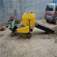 牛場秸稈飼料打捆包膜機 飼草壓縮打捆機