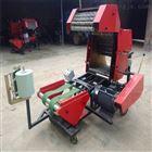 草捆发酵包膜机 自动进料青贮打捆机
