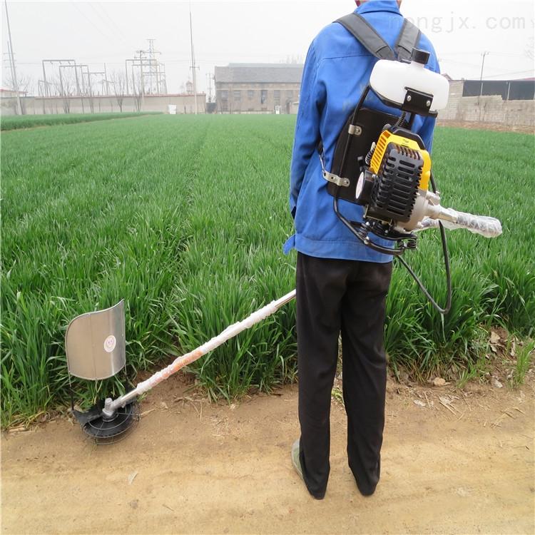 园林小型背负式割草机 水田稻田除草机