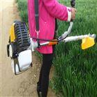 山地方便使用的割草机 汽油侧挂式除草机