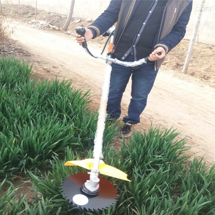 小型水稻小麦收割机 手持割草机