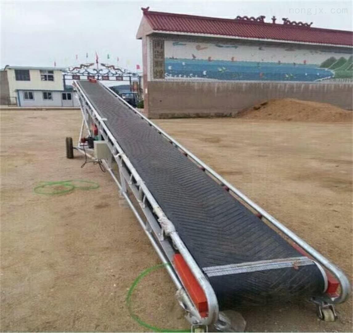 移动带式输送机价格 PVC裙边皮带传送机
