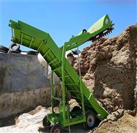 6米青贮秸秆取料机 电动堆取草机视频