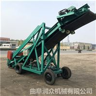 全自动青贮取料机 高空升降式抓草取料车