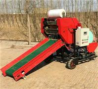 干湿玉米秸秆捆包打捆机 青储稻类包膜机