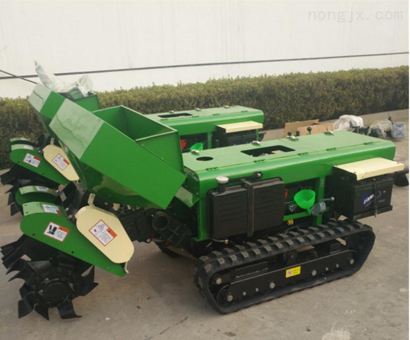 RF-SFJ-32-履带式自动回填开沟机 园林松土除草施肥机