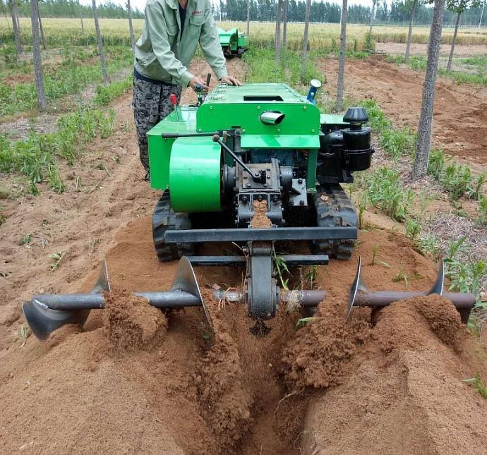 RZ LD-2-耕地除草专用履带式田园管理机 回填埋肥机