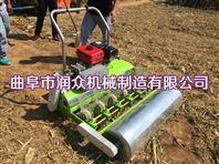 人力手推的大葱播种机 汽油多功能种菜机
