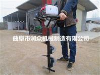 农用多功效钻眼机 手提式挖坑机厂家