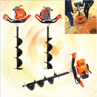 山地植樹打坑機 拖拉機軸連接挖坑機