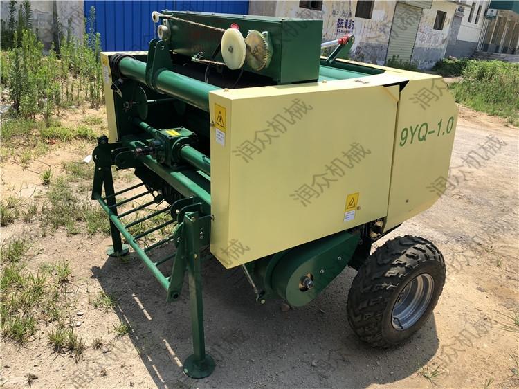 青贮圆捆的草料打包机 自动捡拾麦秆打捆机