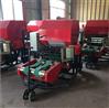 蒲草收获青贮打包机 养殖场草料打捆裹包机