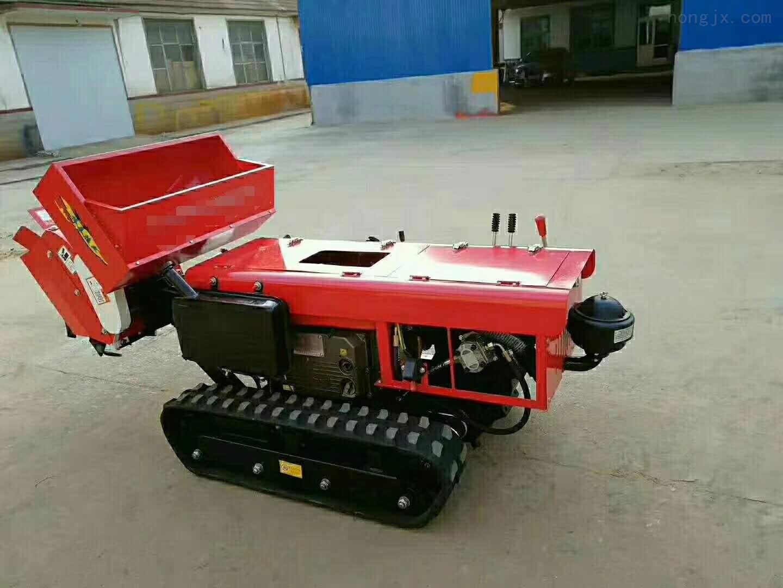 世超牌履带式大棚王拖拉机 田园管理机