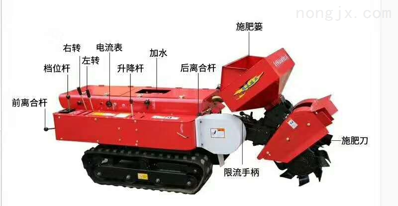 LD01-履带式大棚王果园管理机