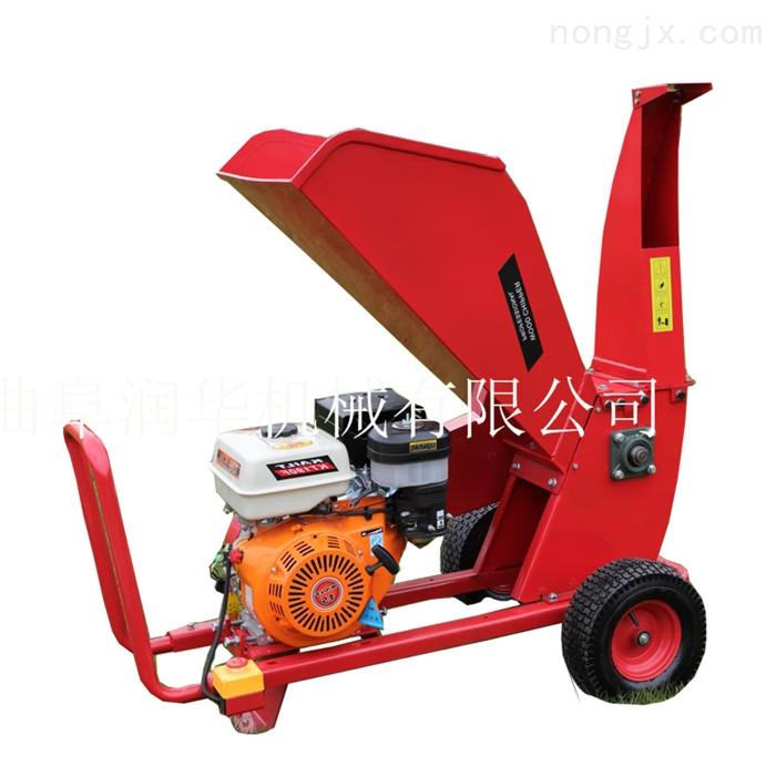 皇竹草秸秆粉碎机 柴油机动力树枝切碎机