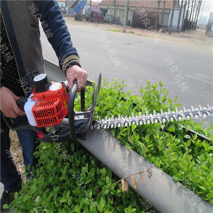 山坡茶树修剪机 手提式两冲程绿篱机价格