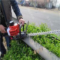 山坡茶树修剪机 手提式两冲程绿篱机价钱