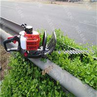 公路綠化帶修剪機 汽油便攜式綠籬機價格