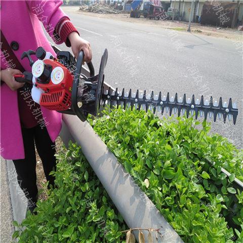 公园花树专用汽油绿篱机 手提省人力剪枝机