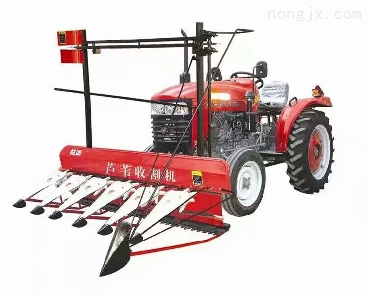 苞米秸秆割倒机 手扶车带稻麦割晒机价格