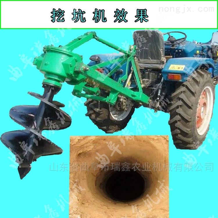 多功能立柱埋桩机 多用植树挖坑机厂家