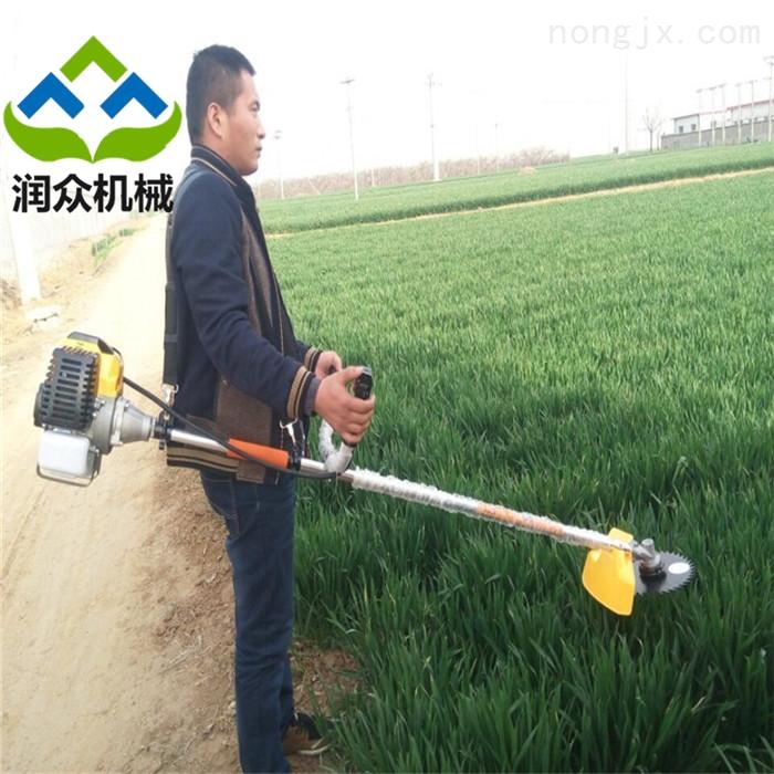 农用一机多能除草机 便携式果园割草机