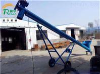 输送石英砂螺旋提升机 钢管蛟龙麦麸上料机