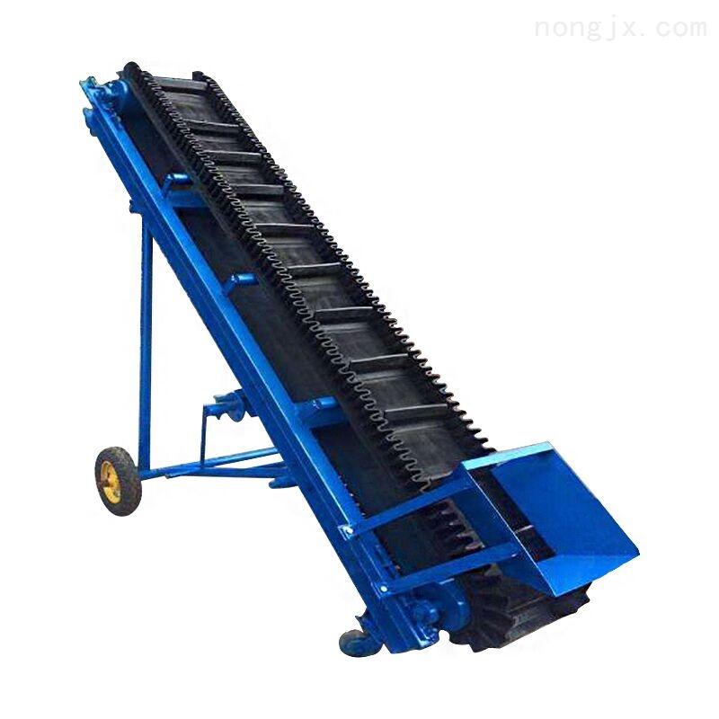 皮带输送机-运输机不锈钢防腐 散包两用装车胶带输送机