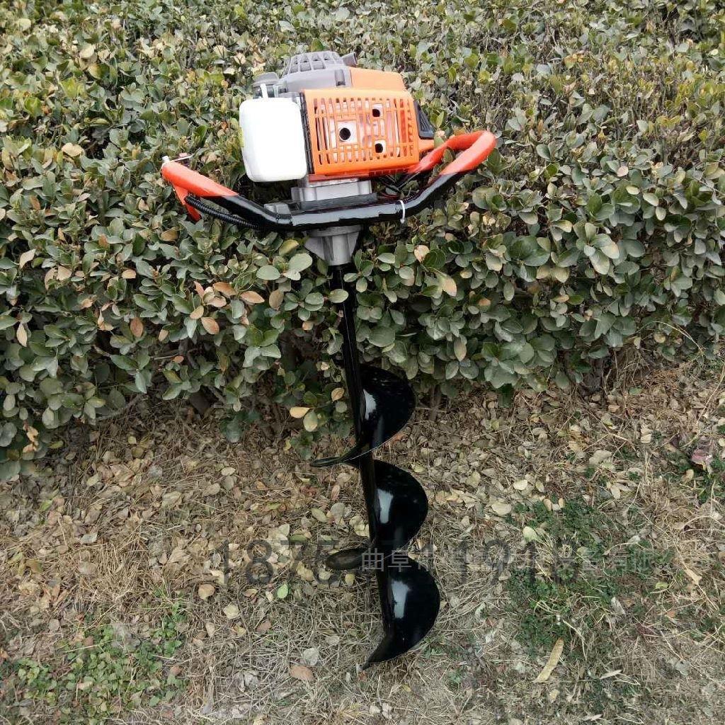 手提式螺旋打孔机 硬地土地挖坑机价格