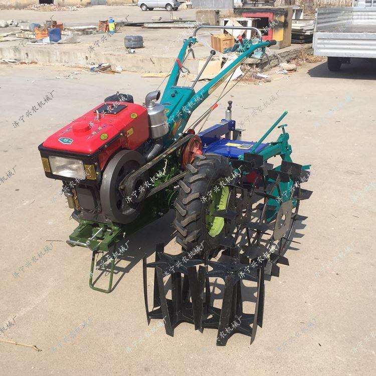 农用耕田机起垄机 拖拉机悬挂式打药机