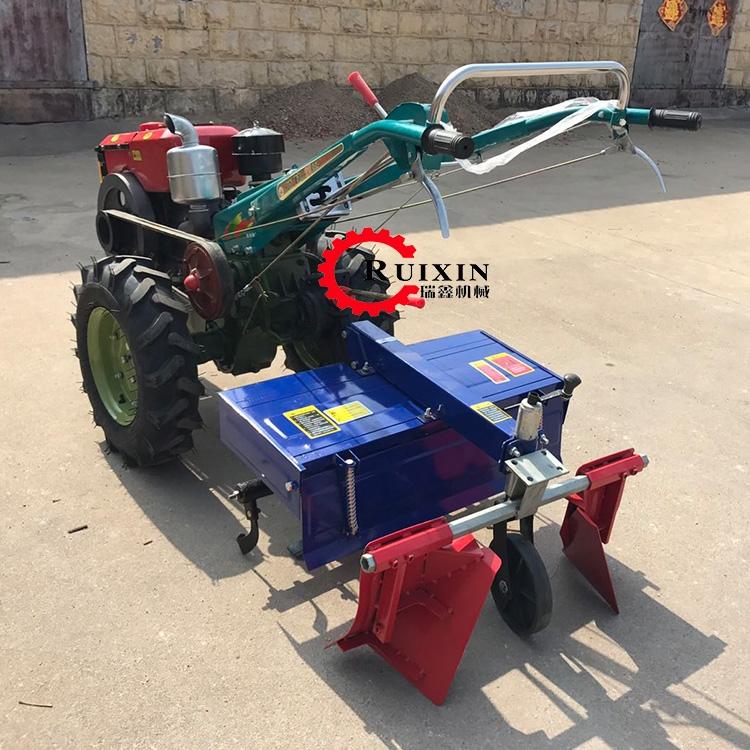 手扶式耕地机 柴油大马力拖拉机