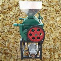对辊式豆类小麦挤扁机