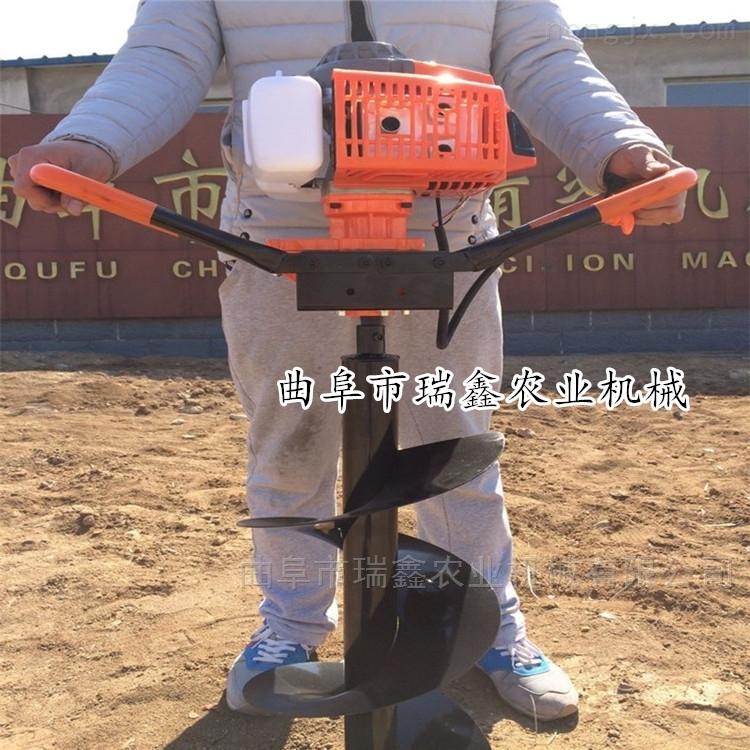 热销便携式栽树挖坑机