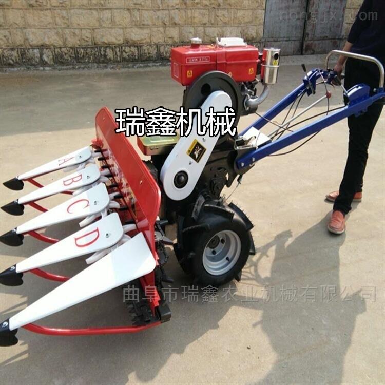 手扶式牧草收割机 豆类多功能割晒机