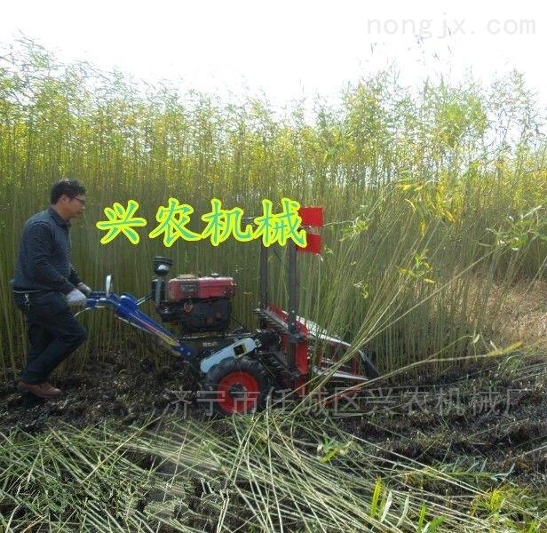 多功能单行玉米收割机 玉米割晒机