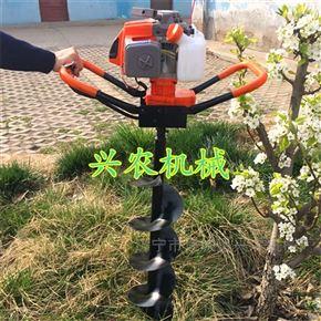 xnjx-2双人操作汽油地钻挖坑机