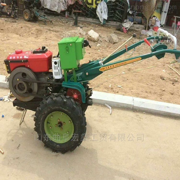 大同12马力旋耕机 齿轮传动手扶拖拉机价格