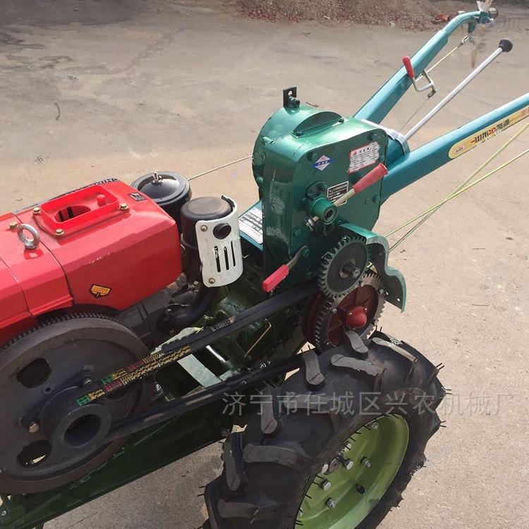 果园旋耕除草机 两轮多功能拖拉机