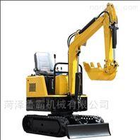 鲁霸10型履带式多功能型挖掘机