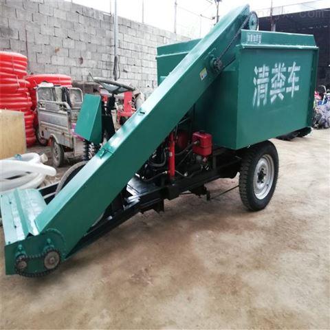 吉林自走清粪车 地面铲粪车 2米刮粪装载机