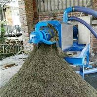 污粪脱水处理机 粪便分离机加工后成粉状