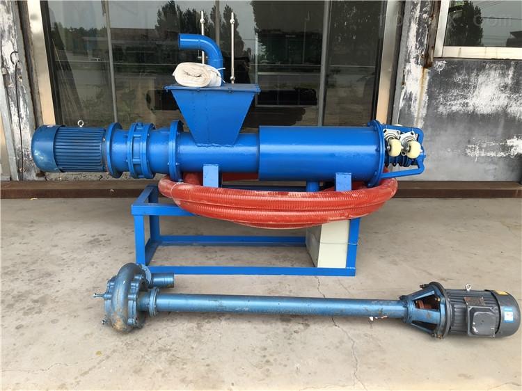 粪便分离机加齿轮油 加长抽粪泵固液处理机
