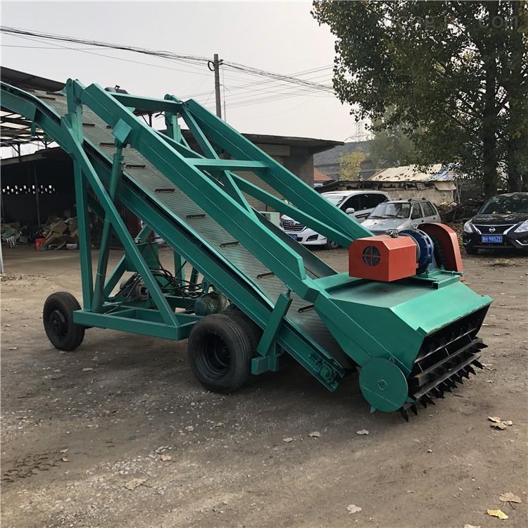 草垛取料机 青储料扒料机 自走式青贮装载机