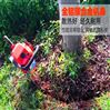 挖树机单人操作 链条锯树断根机 起树机视频